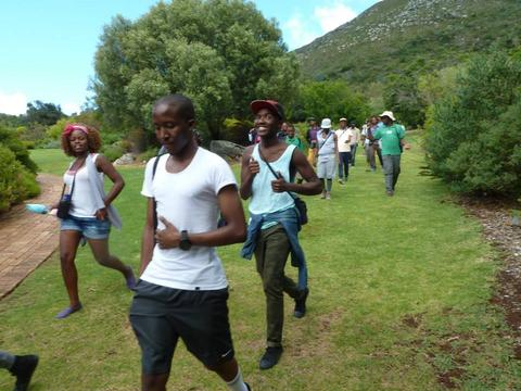 Kirstenbosch hike for Western Cape learners