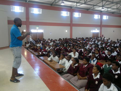 Local High School opens its doors to IY Nyanga