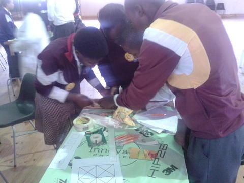Nyanganites at HIP2B2 Innovation Challenge