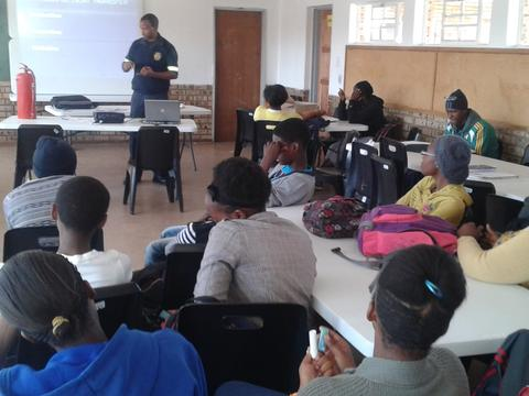Fire Safety Awareness-Ikageng Branch