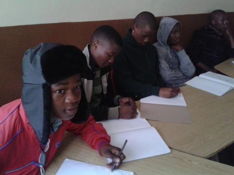 Job readiness and CV-writing workshop for Nyanganites