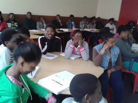 Safety lab safe-talk with Nyanganites