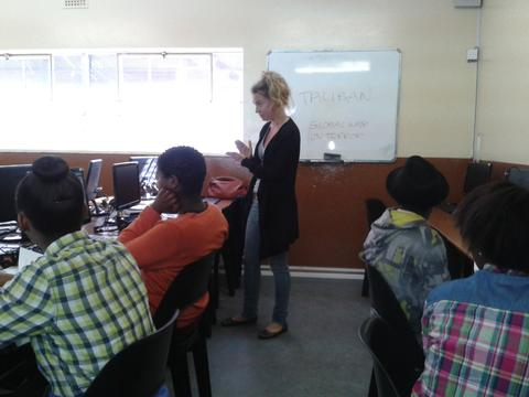 Nyanga Gr 11s treated to great workshop