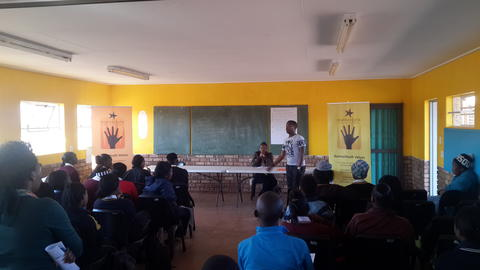 IY Ikageng Hosts a NSFAS Information Session