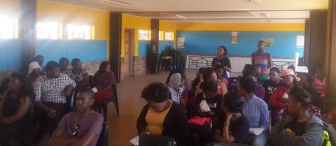 IkamvaYouth Ikageng -Grade 12 Learners' and Parents' Meeting