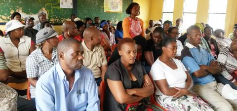 Ivory Park parents meet to support IkamvaYouth Programmes