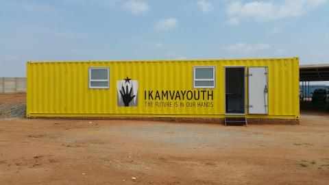 The Build-Up To A New Computer Lab In Ivory Park