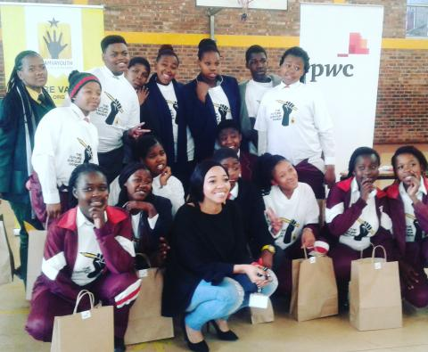 Post Mandela Day Celebration at the Nyanga Branch