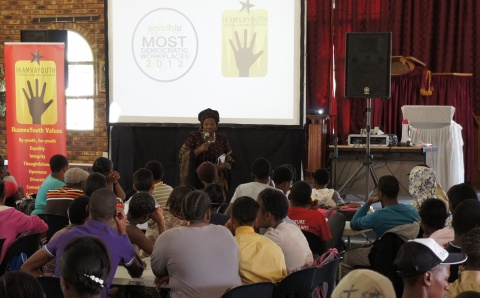IkamvaYouth Gauteng Celebrates being the First South African Organisation to make list of the World's Most Democratic Workplaces