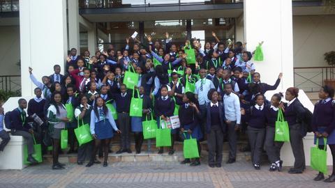 Masi learners attend Career Fair in Rondebosch