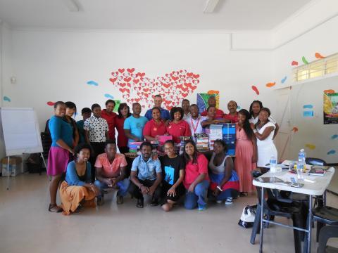 CAF SA & Shell Volunteer Day