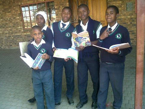 IkamvaYouth Gauteng working with FUN MATHS
