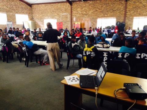 Ebonites Study skills workshop with Dr. Welcome Khubeka