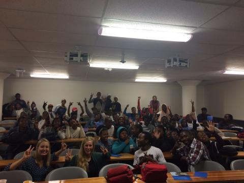 UCT GoldenKey hosts Ikamvanites for University Prep WorkShop!