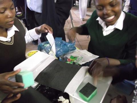 Grade 10 Gauteng Ikamvanites attend the Hip2b2 Event