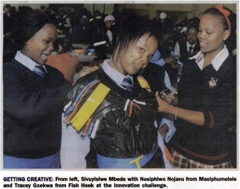 25 Ikamvanites from Western Cape being innovative.