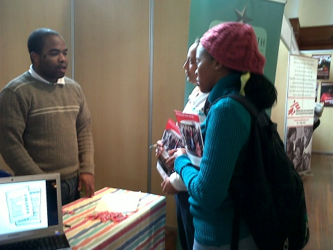 IY participates in UCT NPO Careers expo