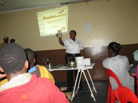 Nyanga fire safety and awareness workshop