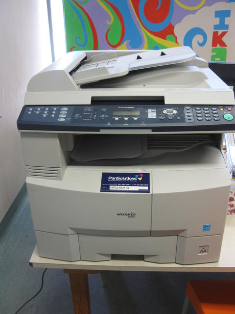 Masi branch receives a printer donation from PanSolutions
