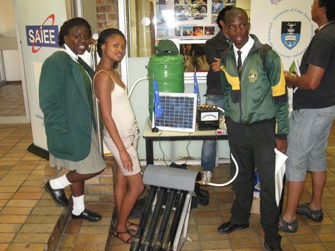Nyanganites at UCT Open Day 2013