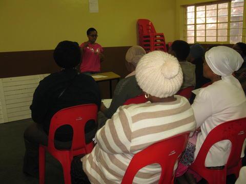 Nyanga's first parents' meeting 2013