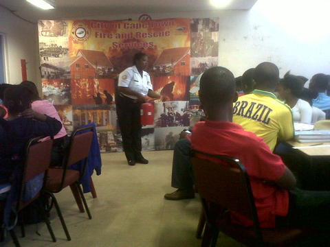 Fire safety awareness workshop