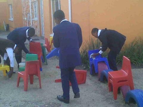 Ebony Park Ikamvanites and Mandela Month Celebrations