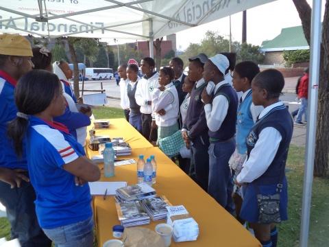 Ebony Park Ikamvanites attend University Open Days
