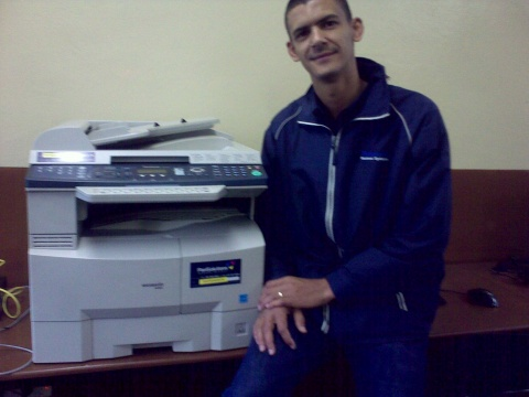 PanSolutions equips Nyanga lab with printer
