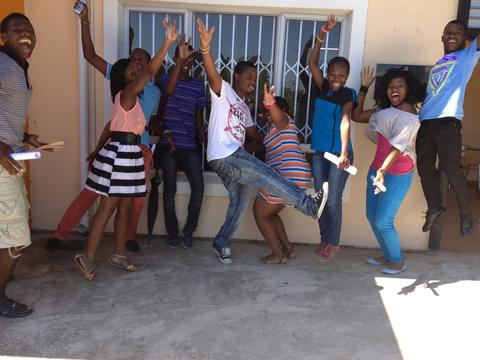 Matric Results so far: 100% pass rate with 91% eligible for tertiary education