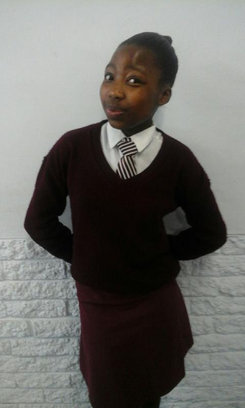 My passion for writing stories: Sive Ncanywa grade 8 learner