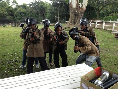 KZN Staff Day Paintball