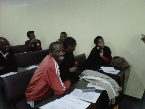 Tutor Training Session at Chesterville